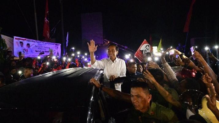 Menang Telak, Jokowi Kantongi 99% Suara di Vatikan
