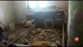 VIDEO: Gempa Sumenep, Dua Siswa SMA Sedang UNBK Terluka