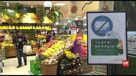 VIDEO: Korsel Resmi Larang Penggunaan Plastik Sekali Pakai