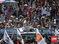 Kampanye di Padang, Prabowo Minta Maaf Tak Bagi-bagi Sembako