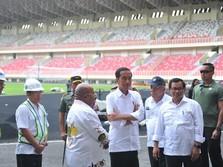 Janji Jokowi, Pesaing GBK di Papua untuk PON 2020 Rampung Mei