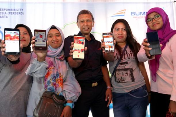 PT KAI Gelar Pasar Murah Terkait Sosialisasi Pembayaran Digital