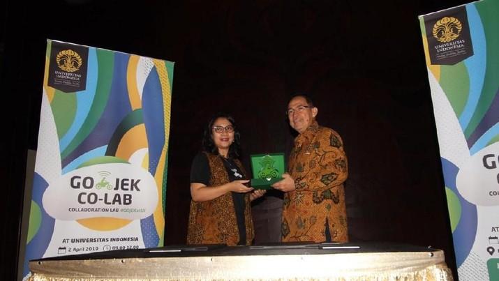 Gojek dan Universitas Indonesia menjalin kerjasama dalam hal keterampilan tinggi.