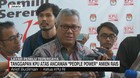 VIDEO: KPU Tanggapi Ancaman 'People Power' Amien Rais