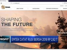 Emtek Catat Rugi Bersih Rp 2,62 T di 2018