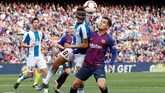 Philippe Coutinho mendapat bayaran €30 juta atau setara Rp478 miliar per tahun dan berada di posisi delapan pesepakbola dengan bayaran tertinggi. (REUTERS/Albert Gea)