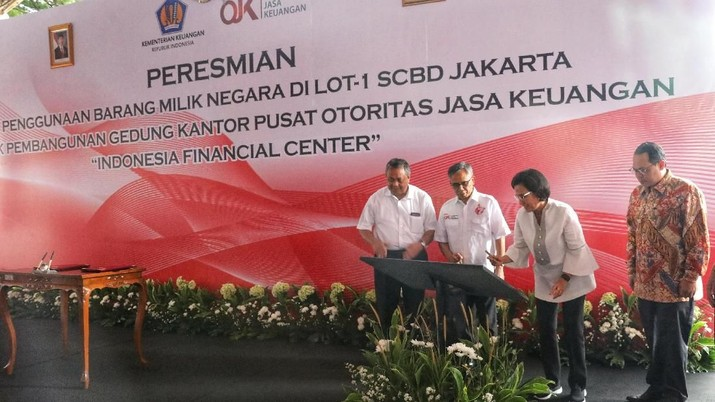Gedung tersebut akan berlokasi di Lot-1 Kawasan Sudirman Central Business District (SCBD), Jakarta Selatan.