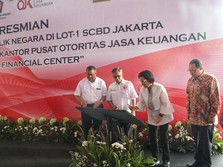 OJK Miliki Gedung Sendiri, Namanya Indonesia Financial Center