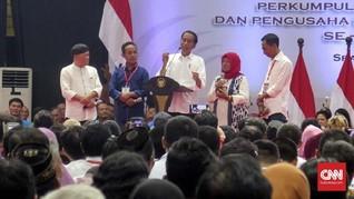Warga Sragen Mengeluh ke Jokowi: Mumet Pak, Utang ke Bank