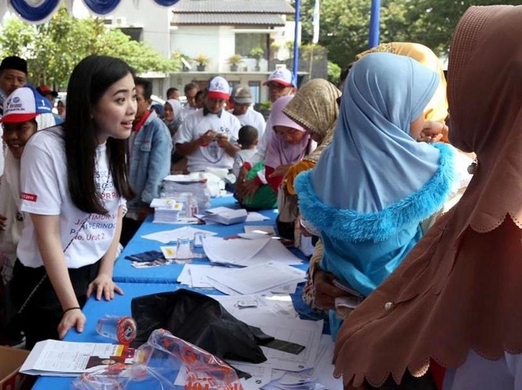 Jessica sapaan akrabnya, bercita-cita mulia ingin memajukan pendidikan di Indonesia agar masa depan generasi penerus bangsa bisa lebih sejahtera. Foto: dok. Perindo