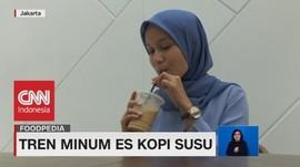 VIDEO: Tren Minum Es Kopi Susu