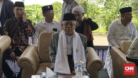 Azan Zuhur, Ma'ruf Hentikan Pidato Sejenak Sebelum Mengakhiri