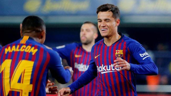 Dilema Barcelona vs Man United, Pilih Coutinho atau Dembele