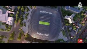VIDEO: Penampakan Desain Stadion Baru Real Madrid