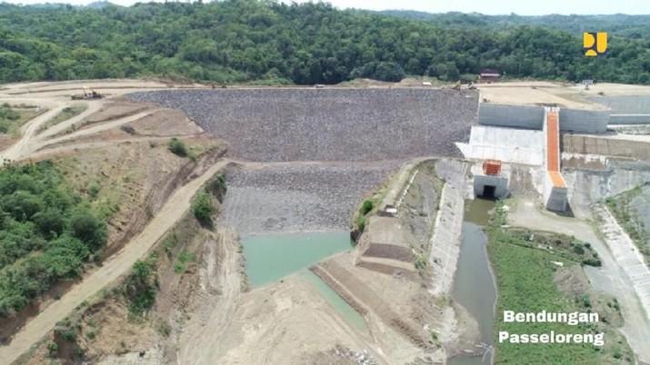 Kementerian PUPR menargetkan pembangunan 65 bendungan yang terdiri dari 49 bendungan baru dan 16 bendungan lanjutan pada periode 2015-2019