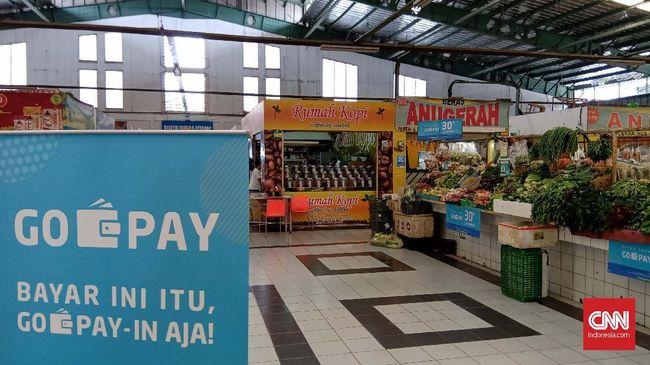 Gopay Kini Bisa Dipakai Beli Buah di Pasar Modern Tangerang
