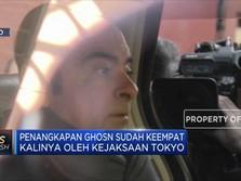 Eks Bos Nissan Kembali Ditangkap di Jepang