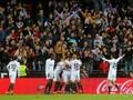 Real Madrid Tertinggal 0-1 dari Valencia di Babak Pertama