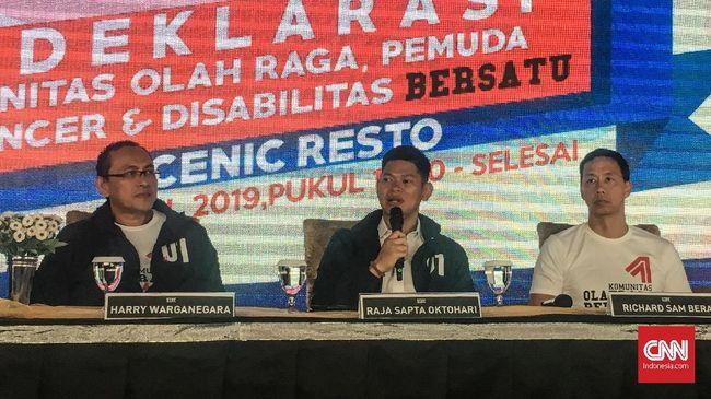 Mantan Atlet Tuntut Kemajuan Olahraga di Tangan Jokowi-Ma'ruf
