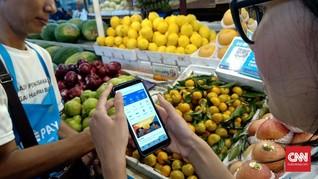 Pengguna Aplikasi Dompet Digital di Indonesia Naik