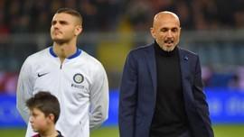 Cetak Gol Inter Milan Icardi Berdamai dengan Spalletti