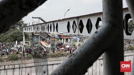 Perbaikan JPO, Underpass Pasar Minggu Bakal Ditutup Malam Ini