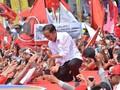 Membuntuti Safari Politik Jokowi di Tanah 'Ngapak'