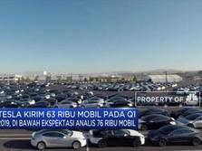 Pengiriman Mobil Tesla Q1/2019 di Bawah Ekspektasi Pasar