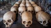 Museum itu memang didirikan untuk mengingat sekaligus mengenang masa lalu kelam yang bersejarah di Rwanda. Lebih dari 1 juta korban jatuh dalam peristiwa itu. (Jacques NKINZINGABO / AFP)