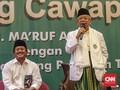 Ma'ruf Amin Klarifikasi soal Video 'Ahok Harus Kita Habisi'
