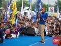 Setelah Jokowi di Tegal, Giliran Sandi Hujan-hujanan di Yogya