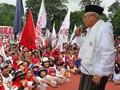 Ma'ruf Jawab Prabowo soal Kartu Jokowi: Bukan untuk Dimakan