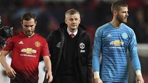 Tiga Pemain Spanyol Manchester United Berontak