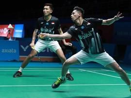 Kalah dari Fajar/Rian, Ganda China Salahkan Fan Indonesia