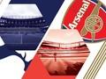 INFOGRAFIS: Perbandingan Stadion Tottenham vs Arsenal