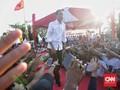 50 Peserta Kampanye Jokowi di Batam Pingsan Karena Kepanasan