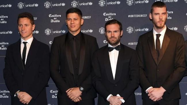 Manchester United dihantam kabar tidak sedap setelah Ole Gunnar Solskjaer resmi menjadi manajer permanen. Delapan pemain mereka dikabarkan akan hengkang akhir musim ini. (Paul ELLIS / AFP)