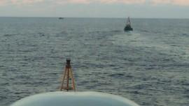 TNI Usir Konvoi Kapal China Sedang Tebar Jala di Natuna