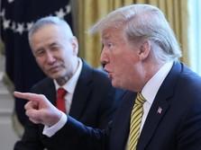 Kabar Baik Datang dari Meja Perundingan Dagang AS-China