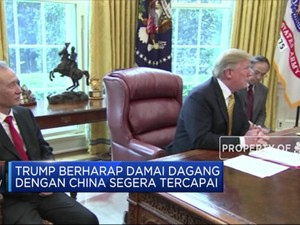 Trump: Kesepakatan Dagang dengan China Semakin Dekat