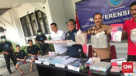 BNN Jateng Bekuk Pelaku Pencucian Uang Narkoba Rp8 Miliar