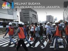 Trotoar Jakarta Mirip Singapura, Warga Jadi Rajin Jalan Kaki?