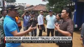 VIDEO: Ridwan Kamil Tinjau Lokasi Banjir