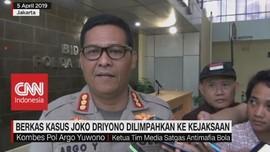 VIDEO: Berkas Kasus Joko Driyono Dilimpahkan Ke Kejaksaan