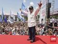 Diisukan Sakit, Prabowo Kampanye Berapi-api di Ciamis
