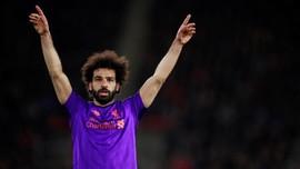 FOTO: Mohamed Salah Antar Liverpool ke Puncak Liga Inggris