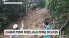 VIDEO: Longsor Tutup Akses Jalan Trans Sulawesi