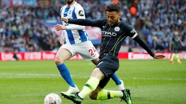 Tumbangkan Brighton, Man City Melaju ke Final Piala FA