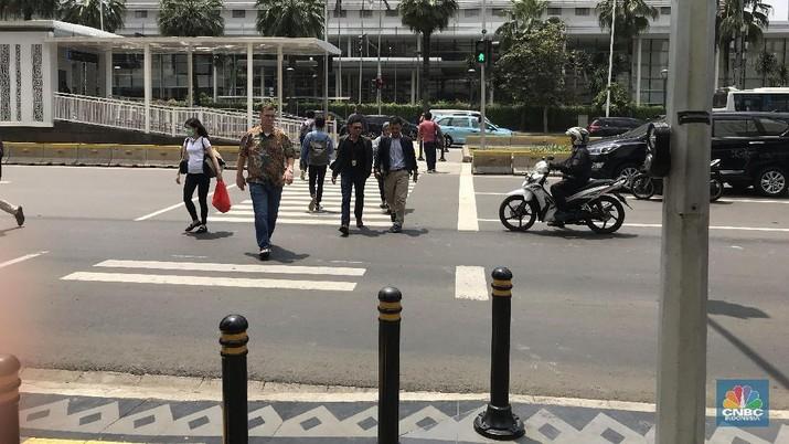Kehadiran MRT Bantu Warga Ubah Pola Hidup Jadi Pejalan Kaki