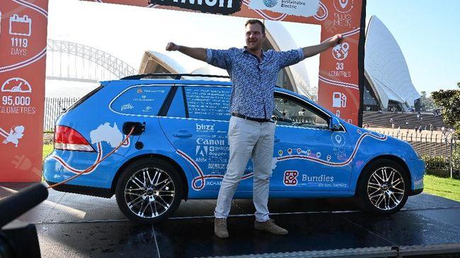 Perjalanan Terpanjang Mobil Listrik dari Belanda ke Australia